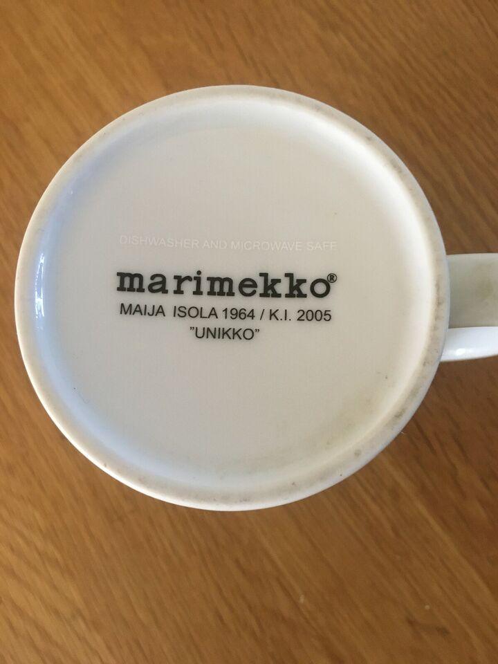 Porcelæn, Krus, Marimekko