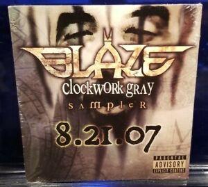 Blaze-Ya-Dead-Homie-Clockwork-Gray-Sampler-CD-SEALED-insane-clown-posse-icp