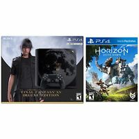 Sony PlayStation 4 Slim 1TB Final Fantasy XV Console + Horizon: Zero Dawn