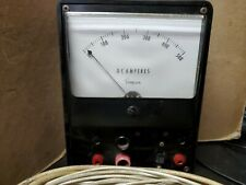 Simpson 5 Analog Panel Meter Current Ammeter Dc 0 500a Withcables Ready To Use