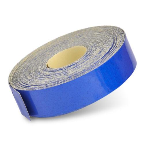 5M Blau Reflektierendes Klebeband Klebeband Folie Reflektorband Reflexfolie  tp