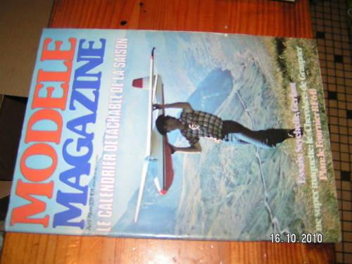 Modele magazine n°331 Cherokee Gerfaut Zero Fournier RF