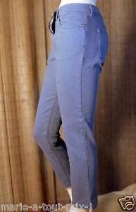 38 Nuovo 290 Valore Alexander Mcqueen Grey Euros Pantaloni Capri 40 29 nXZ4Pvw