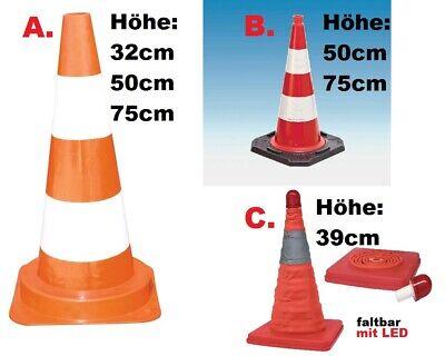 Pylone rot wei/ß 320 mm H/öhe Leitkegel//Warnkegel