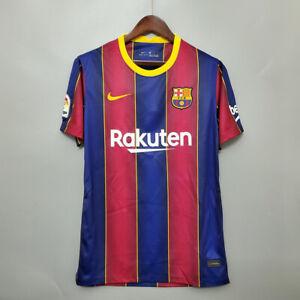 Fc Barcelona Home Shirt 2020 21 Season Home Kit Jersey Barca Ebay