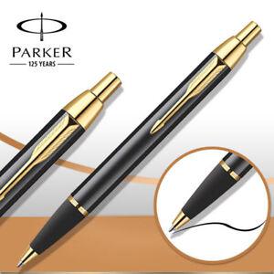 Office-Metal-Parker-IM-Ballpoint-Pen-0-5mm-Nib-School-Student-Writing-Stationery