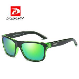 DUBERY-Polarized-Sport-Mens-Sunglasses-Outdoor-Driving-Green-Lenses-Glasses-New