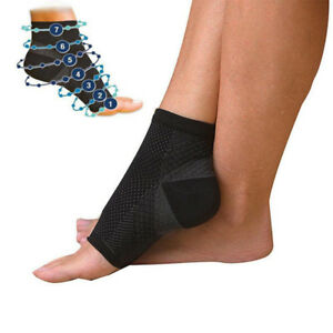 2PCS-Ankle-Support-Brace-Elastic-Compression-Wrap-Sleeve-Sports-Relief-Pain-Foot
