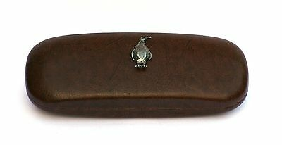 Goat  Motif Leather effect PU Glasses Spectacle Case Farmyard Nature Birds 153