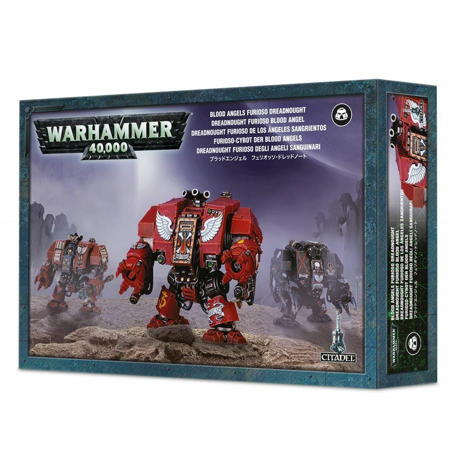 Warhammer 40K  Blood Angels Furioso Dreadnought 41-11