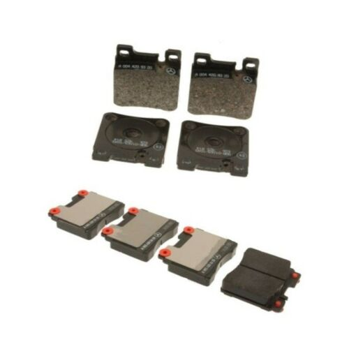 Mercedes W140 300SD 400SEL CL500 S320 Front and Rear Brake Pad Sets Genuine NEW