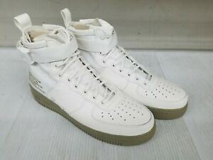 Nike SF AF1 Special Field Air Force 1 Mid Ivory Olive Size 10.5  82416fd70