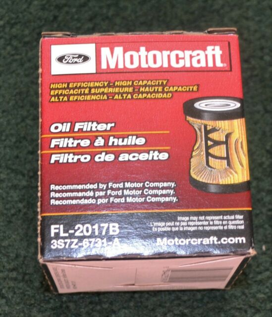 Lot of 5 Ford Motorcraft FL-2017B Engine Oil Filter 3S7Z-6731-A