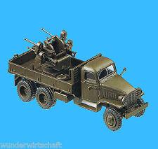 Roco Minitanks H0 627 CCKW 3533 LKW 2,5t + FLAK WWII US Army HO 1:87 GMC truck