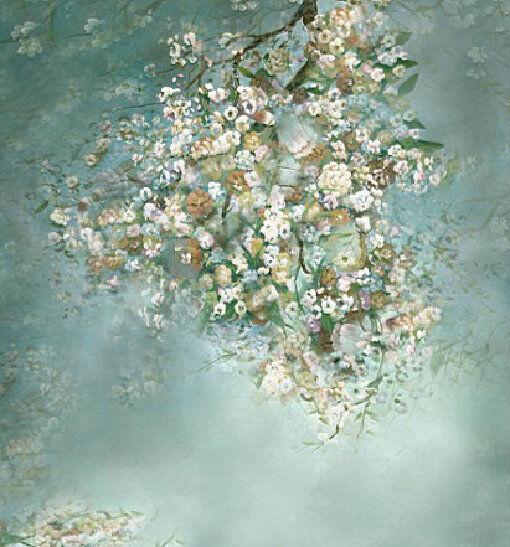 Fantasy Vinyl Photography Studio Floor Props Backdrops Wedding Backgrounds 5x7ft