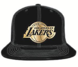 Los Angeles Lakers Black Gold Nba Basketball Mitchell Ness Snapback Hat Cap Ebay