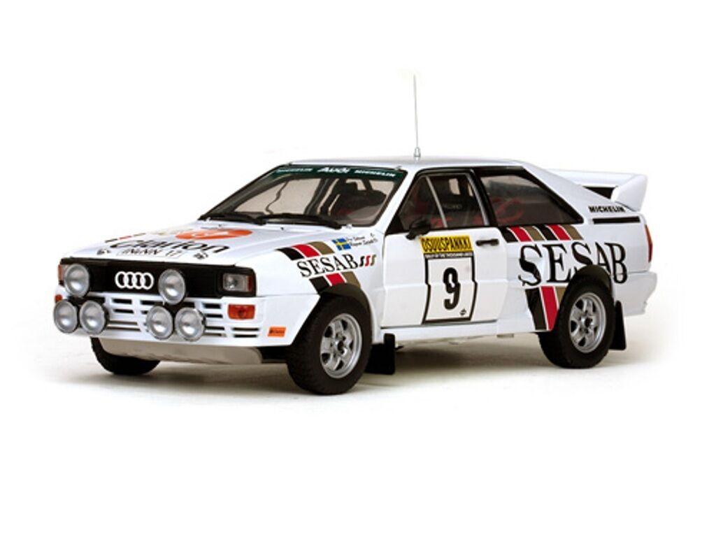 Sunstar 4230 Audi Quattro A2 coche modelo Eklund & spjuth 1000 Lakes Rally 83 1 18