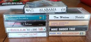 1990s Country/Gospel Cassette Tapes, Alabama, The Kings Heirs, Ray Boltz Present