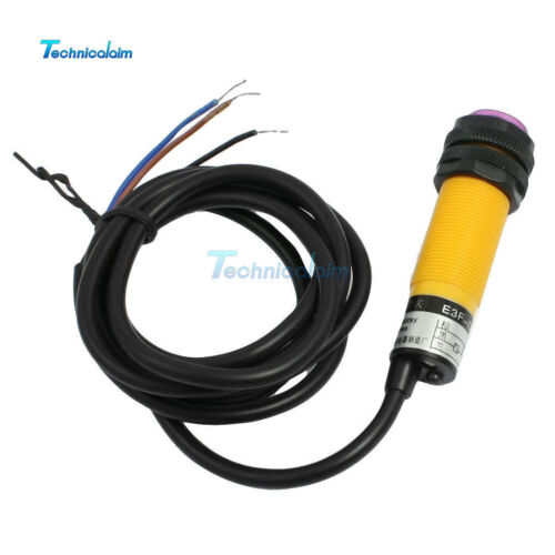 DC 6-36V 3 Wires E3F-DS30C4 Optoelectronic Sensor Photo Switch NPN NO 1.2M Cable