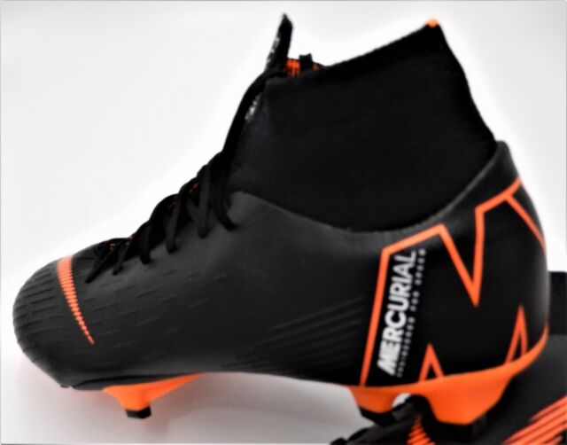 new style ebfbe 0695d Nike Mercurial Superfly 6 Pro DF FG Soccer Cleats Men's Size 9 AH7368081  Black
