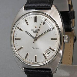 Herren-Armbanduhr-Zenith-Handaufzug