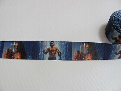 By The Yard 1 Inch Printed Super Hero Kids Grosgrain Ribbon Lisa
