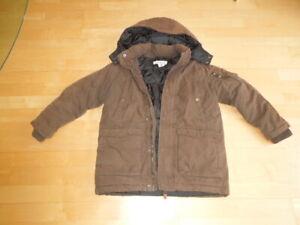 Details zu Winterjacke für Jungs, H&M, braun, Größe 128
