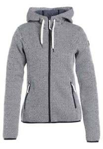 Icepeak Theresa Strick Fleece Jacke für Damen warm kuschelig Modell 17//18 UVP 80