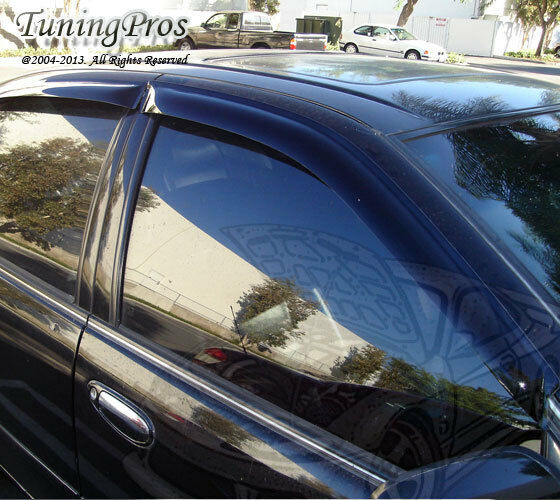 JDM Outside Mount Window Visor Sunroof 5pc For Acura TSX