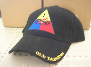 VETERAN-BALL-CAP-U-S-ARMY-1st-ARMORED-DIVISION