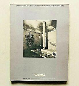 Rassegna n. 31 1987 Rivista Architettura Interni a Milano e a Como Terragni