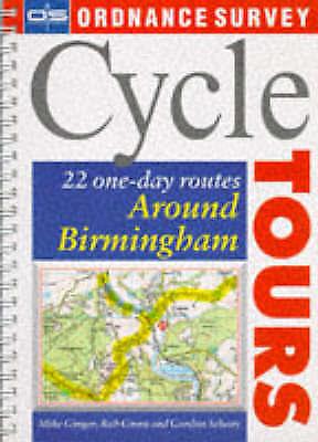 1 of 1 - Around Birmingham (Ordnance Survey Cycle Tours), Gordon Selway, Rob Green, Cotto
