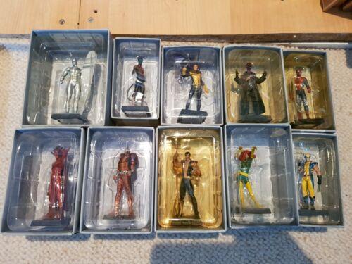 Lot de 10 sur 107 Eaglemoss Classic Marvel Collection 2005 spiderman avengers