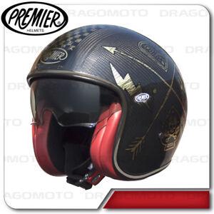 59c228adf28 Image is loading Vintage-Helmet-Carbon-NX-Gold-Chromed-Premier-Jet-