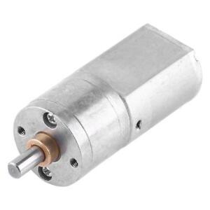 Getriebe Motor elektrisch 12V 15 U//min für Modellbau