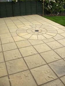 Image Is Loading Concrete Garden Patio Amp Paving Slabs Free Delivery