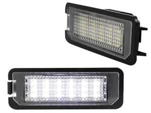 LED  Kennzeichen Beleuchtung mit 2 LED-SMD CAN BUS für VW Phaeton