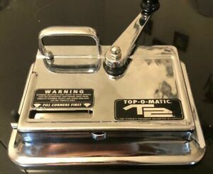 TOP-O-Matic T2 Cigarette Maker Roller Making Tobacco Injector Machine 100s 100mm