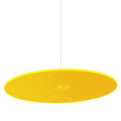 Cazador-del-sol Suncatcher Hanging Yellow sun catcher glows in the dark 6-inch