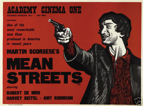 Mean Streets Robert de Niro cult movie poster print #3