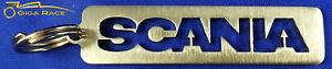 SCANIA-CREST-LOGO-CAR-KEY-CHAIN-KEYCHAIN-KEYS-RING-PENDANT-STEEL