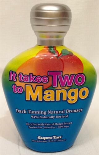 Supre Tan IT TAKES TWO TO MANGO Dark Bronzer Indoor Tanning Bed Lotion