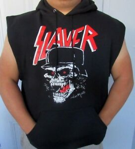 SLAYER BIG SKULL METAL ROCK MEN/'s T SHIRT SIZES