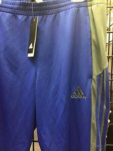 New-Adidas-Tiro-17-Soccer-Pants-Royal-Blue-Grey-Youth-Large-NWT