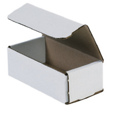 1 200 Choose Quantity 6x3x2 Corrugated White Mailers Packing Boxes 6 X 3 X 2