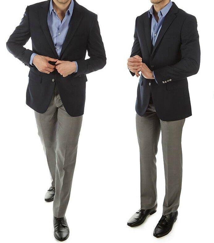Alberto Cardinali  Herren Navy Blazer Suit Coat TailoROT Fit 42L New With Tags