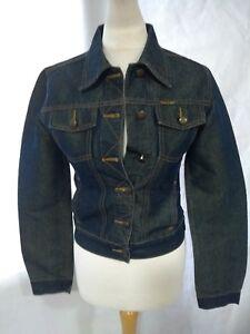 Jacket London Ladies Antique Blue Weave Gold Denim Collection Small Jeans SHC4Cqw