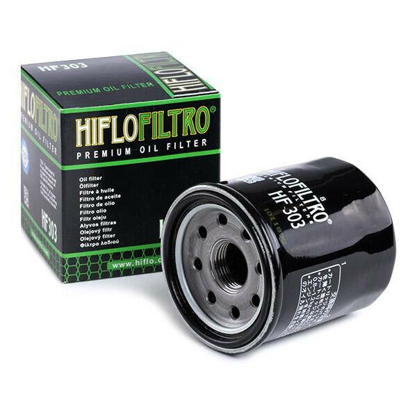Hiflo HF303 Filtro Olio Moto - Honda-Kawasaki-Yamaha Vedi scheda applicazione