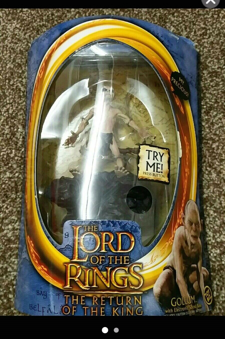 Lord of the rings figure collectable item