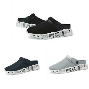 Mens-Slip-On-Garden-Clogs-Slippers-Water-Shoes-Sandals-Breathable-Sneakers-Shoes